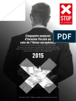 Rapport nuances Evasion Fiscale