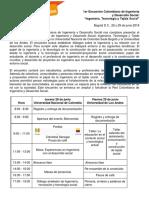 2018 27 06 Programa Encuentro Colombiano de Ingeniería & Desarrollo Social