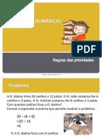 Expressões Numéricas - 5ºano