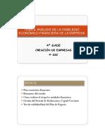 Tema 8. Analisis de Viabilidad Economico-financiera