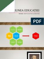 Acțiunea educației