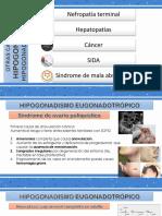 Exposicion Amenorrea otras causas de hipogonadismo