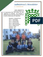 Newsletter 48 - 14th September 2018
