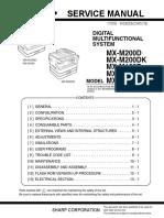 SHARP - MXM-200D - Manual de Serviço.pdf