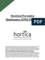 HorticaElectricalMaintenance Program
