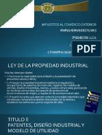 patentes y caracteristicas en video
