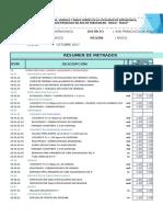 2 Metrados de Acera Peatonal, Rampas, Sardineles y Otros -Adicional