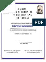 Diploma Prematrimonial (1)