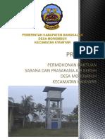 Cover Proposal Air Bersih Kelbung