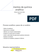 Sesión 2. Proceso Analítico. Sep de Sustancias