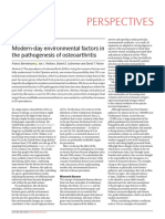 Modern-day Environmental Factors in the Pathogenesis of Osteoarthritis2