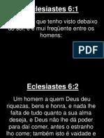 Eclesiastes - 006