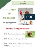 Aula 5 - Intoxicação por inseticidas