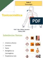 Aula 2 e 3 - Toxicocinética