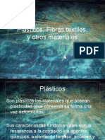 Plásticos, Fibras textiles