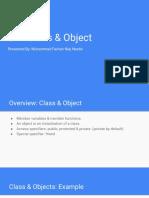 C++ Class & Object