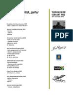 Programa - 15th - Pretoria
