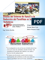 Diseño del Sistema de Apoyo ala Reduccion del Pandillaje en la Zona de Yerbateros