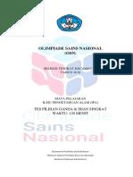 Cover Olimpiade Sains Nasional