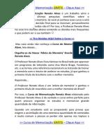 Curso de Memorização Renato Alves - Método Renato Alves