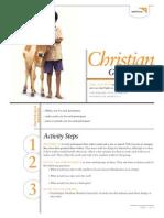 Christian Generosity - Activity