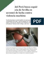 Fiscalía Del Perú Busca Seguir Experiencia de Sevilla