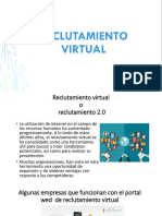RECLUTAMIENTO VIRTUAL, HOJA DE VIDA, BASE DE DATO