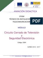2º ITE Circuito Cerrado TV y Seguridad 16-17