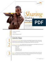 Sharing Food in a Hungry World - Activity