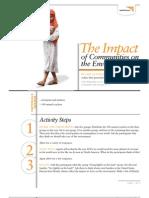 The Impact of Communities - Activity