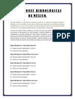Regiones Hidrológicas de México2