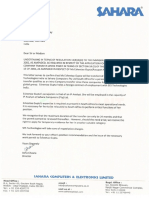 x10 May 2014 - Backdated Employment Contract