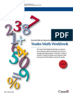 Trades Math Workbook[1]