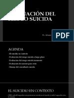 Evaluación del riesgo suicida (2017)