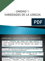 Unidad 1 Lenguas de España