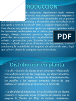 Diap. Distribucion en Planta