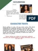 Oprah - Explanation