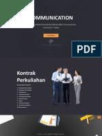 Pendahuluan Komunikasi