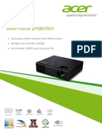 Acer x1273 Brochure En