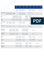 Schedule of Races_310718