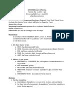 eduhsdfa general meeting minutes 5-1-18