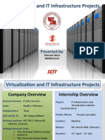 DHANESH_Virtualization and IT Infrastructure Projects