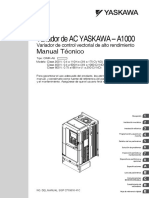 Manual Tecnico Driver Yaskawa a1000 Español