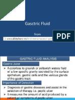 gastric fluid ppt