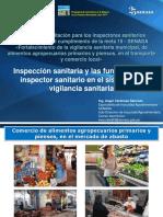 1. Inspección Sanitaria y Funciones Del Inspector Sanitario