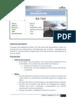 03-765 Informe Reasignacion
