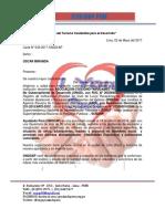 Carta a Oscar Miranda , Alcalde de Piura