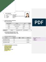 Imprimir Formato Curriculum Ucv