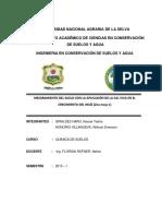 Proyecto Informe de Química de Suelos