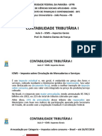 Aula 3 - ICMS - Aspectos Gerais - Verso T
